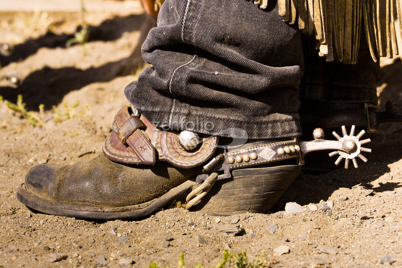 Rinus Baak Photography   Cowboys   Boot and Spur