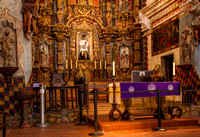 Interior Of Mission San Xavier del Bac